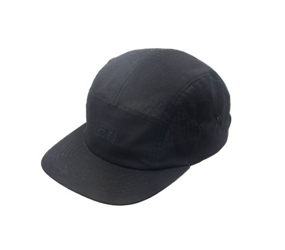 Image of StrangeWays Tonal Five Panel Cap - Black