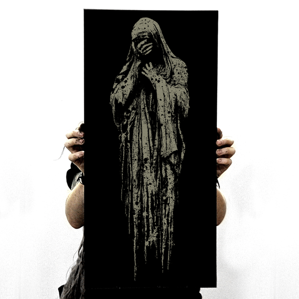 "Image of ""Misery"" screen print"
