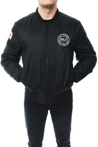 Image of SPLX Black Bomber Jacket