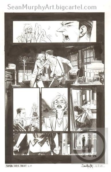Image of Batman: White Knight #6, page 21