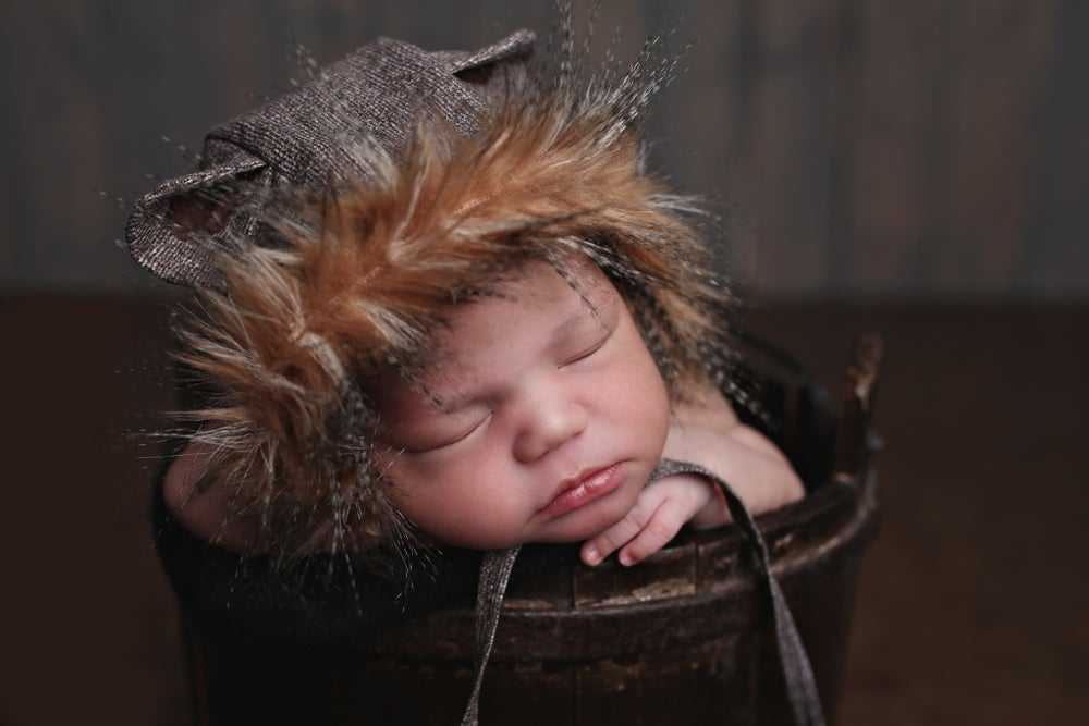Image of Porcupine Newborn Bonnet