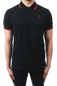 Image of SPLX Box Red Tipped Polo Shirt
