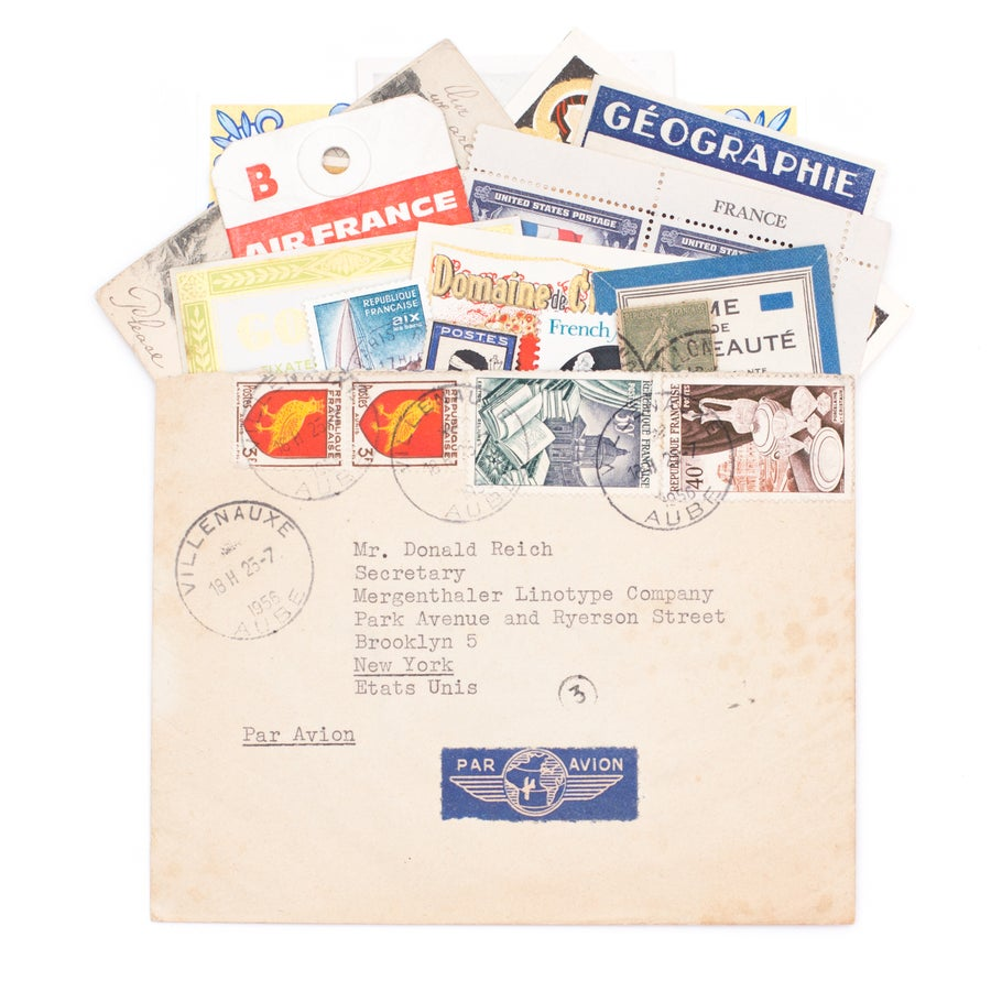 Image of French Ephemera Envelope, No. 2