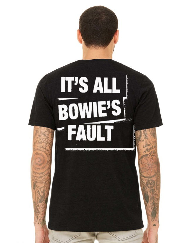 Image of BOWIE - FULL FRONT