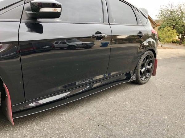 """Image of Ford Focus """"V2"""" Side Skirts"""