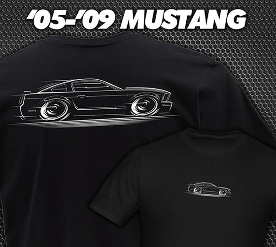 Image of '05-'09 Mustang T-Shirts Hoodies Banners