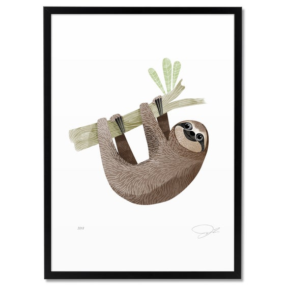 Image of Print: Sloth