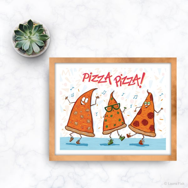 Image of Pizza Dudes Kitchen Print