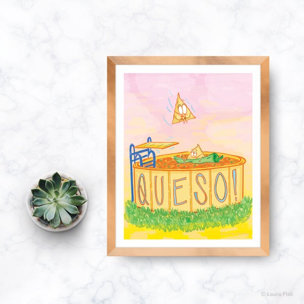 Image of Queso Kitchen Print