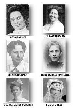 Image of The Founding Mothers of Claremont:  A Living Museum