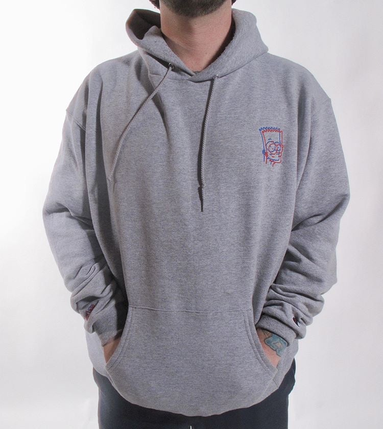 Image of Embroidered 3D BART Hoodie