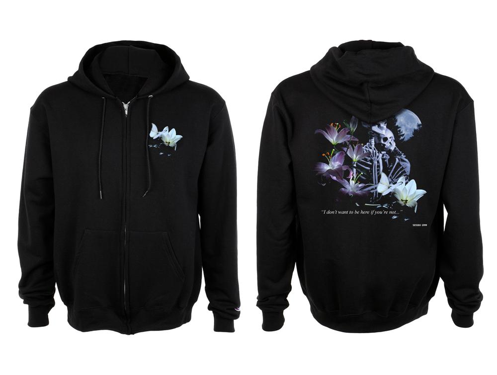 """Image of """"SkeletonTruckstop"""" hoodie"""