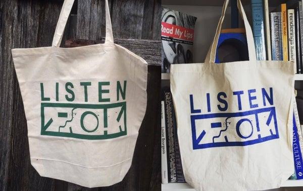 Image of LISTEN Tote Bag