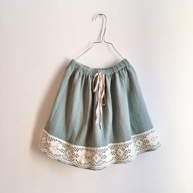 Image of Easy Skirt vintage lace - UNIQUE COLLECTION