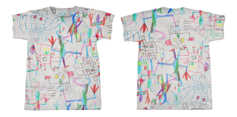 Image of Grey (Pré-commande) tee-shirt