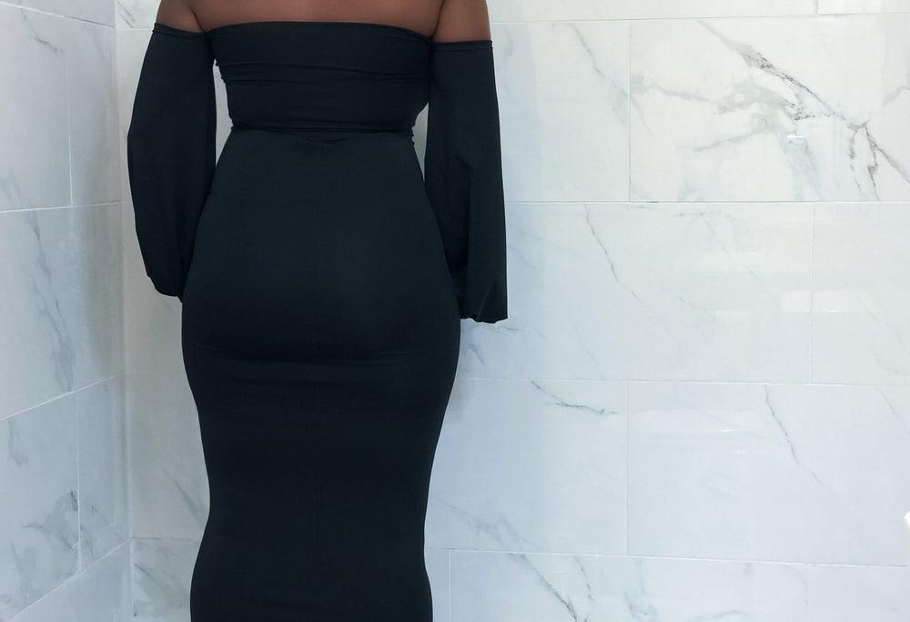 Image of *Steal Deal* So Black Dress