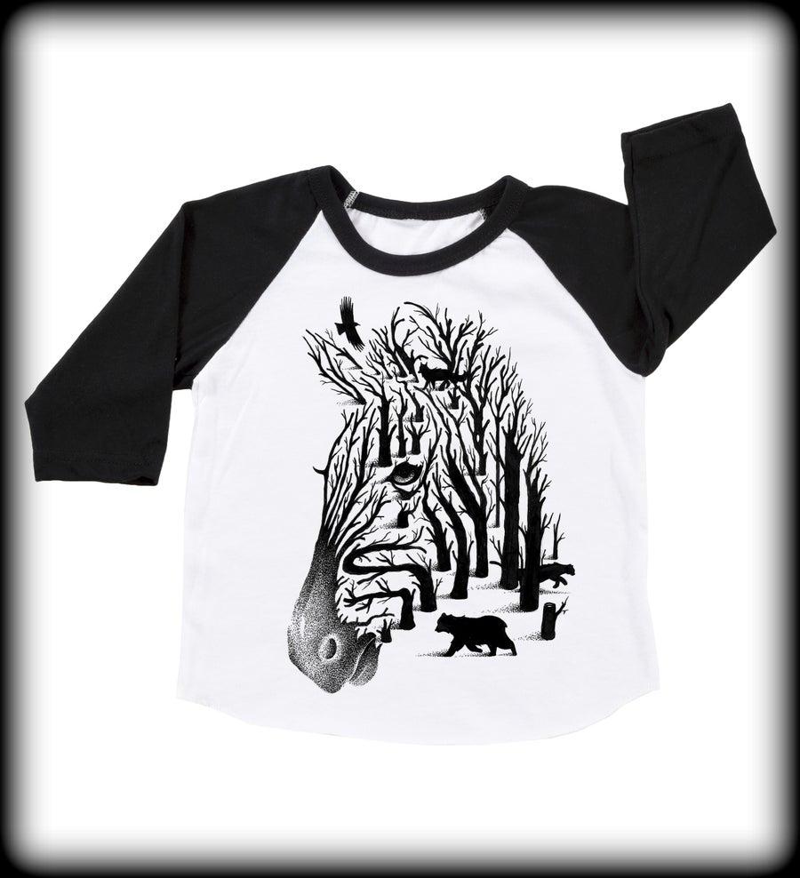 Image of Babies Zebra BBall Tee