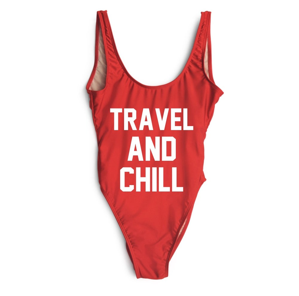 Image of TRAVEL AND CHILL SWIMSUIT