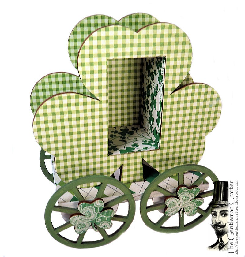 Image of The Shamrock Carriage With Paper