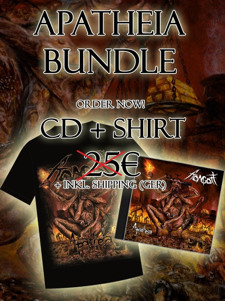 Image of Bundle - Apatheia Shirt & Apatheia CD