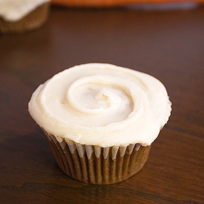 Image of carrot cupcake
