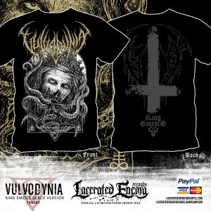 Image of VULVODYNIA - King Emesis - Black version TS 2018