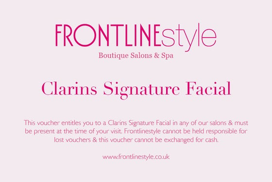 Image of Clarins Signature Facial