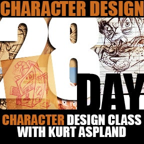 Image of 28 Day Character Design Class