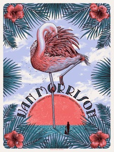 Image of Van Morrison in Miami, FL Poster