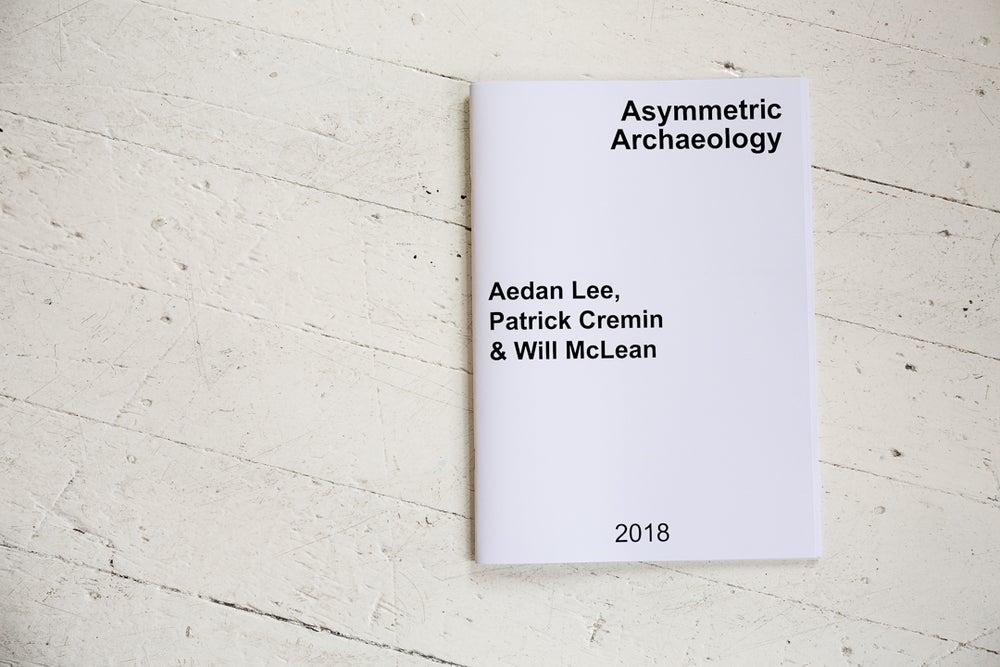 Image of Asymmetric Archaeology exhibition publication
