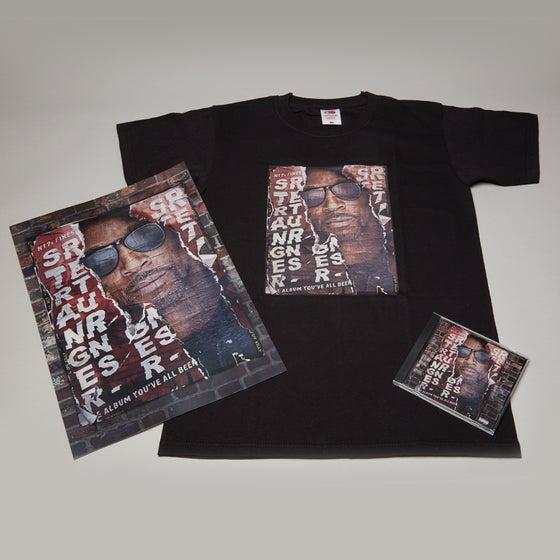 Image of STRANGER RETURNS ALBUM   DELUXE PACKAGE   CD   T SHIRT   POSTER