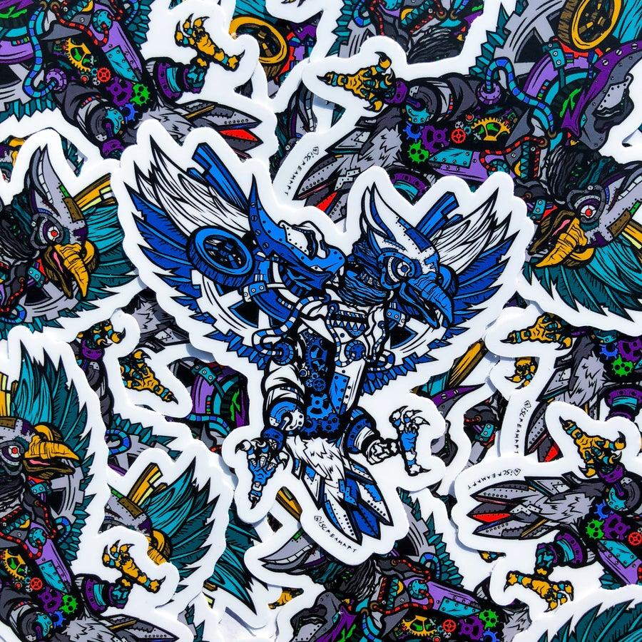 "Image of 4"" Vinyl Cogsworth Slap (Blue)"