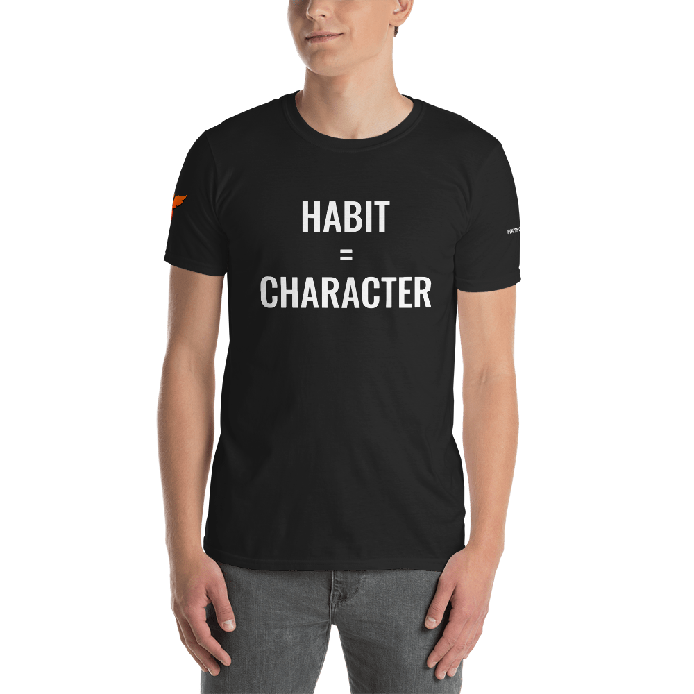 Image of Habit=Character T-Shirt