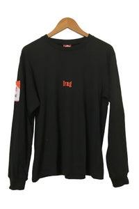 Image of CIGGY POCKET BLACK <br /> LONG SLEEVE TEE