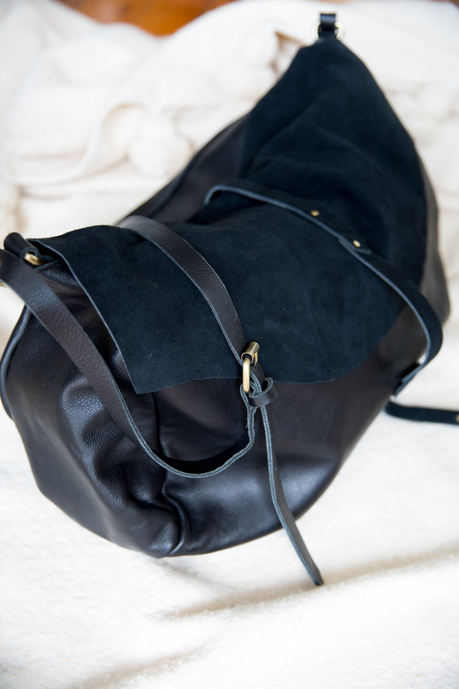 Image of Mama Bag - Leather and Suede