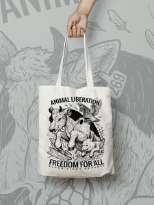 Image of FREEDOM FOR ALL TOTE BAG