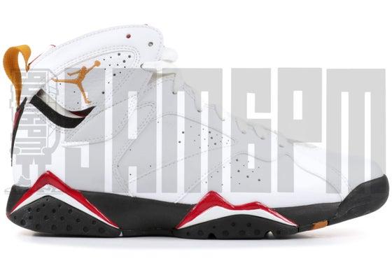 "Image of Nike AIR JORDAN 7 RETRO ""CARDINAL"""