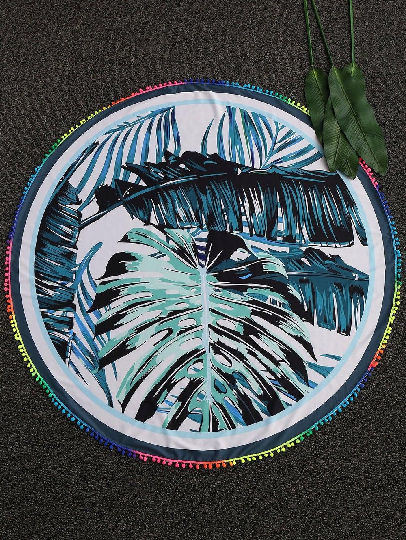 Image of Palm - Beach Throw Blanket