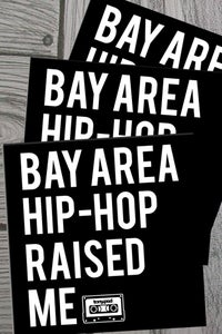 Image of Bay Area Hip-Hop 3-pack stickers
