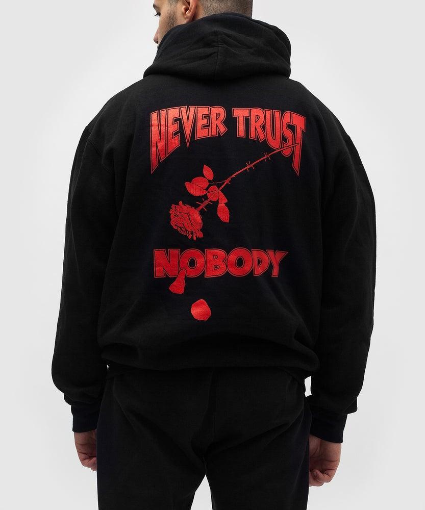 Image of NEVER TRUST NOBODY HOODIE
