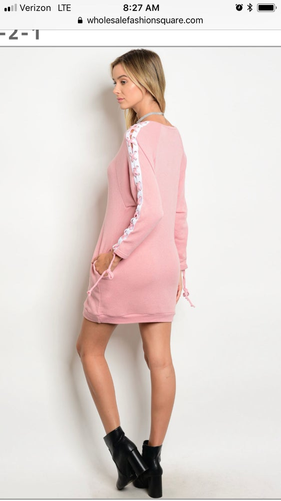 Image of Get Laced Dress From the OML Teen Collection