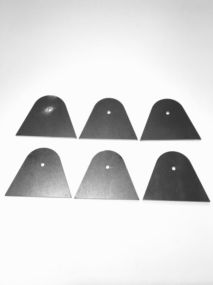 Image of 3mm Fabrication Tab 1 - set of six