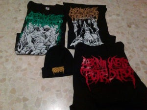 Image of ABOMINABLE PUTRIDITY MERCH