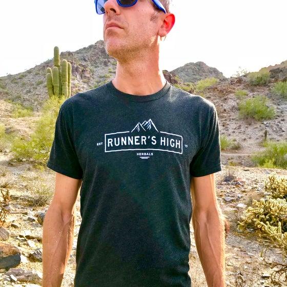 Image of Men's RHH Crew T-Shirt in Vintage Black