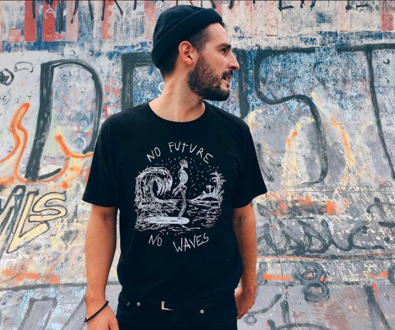 """Image of Camiseta """"No waves"""""""