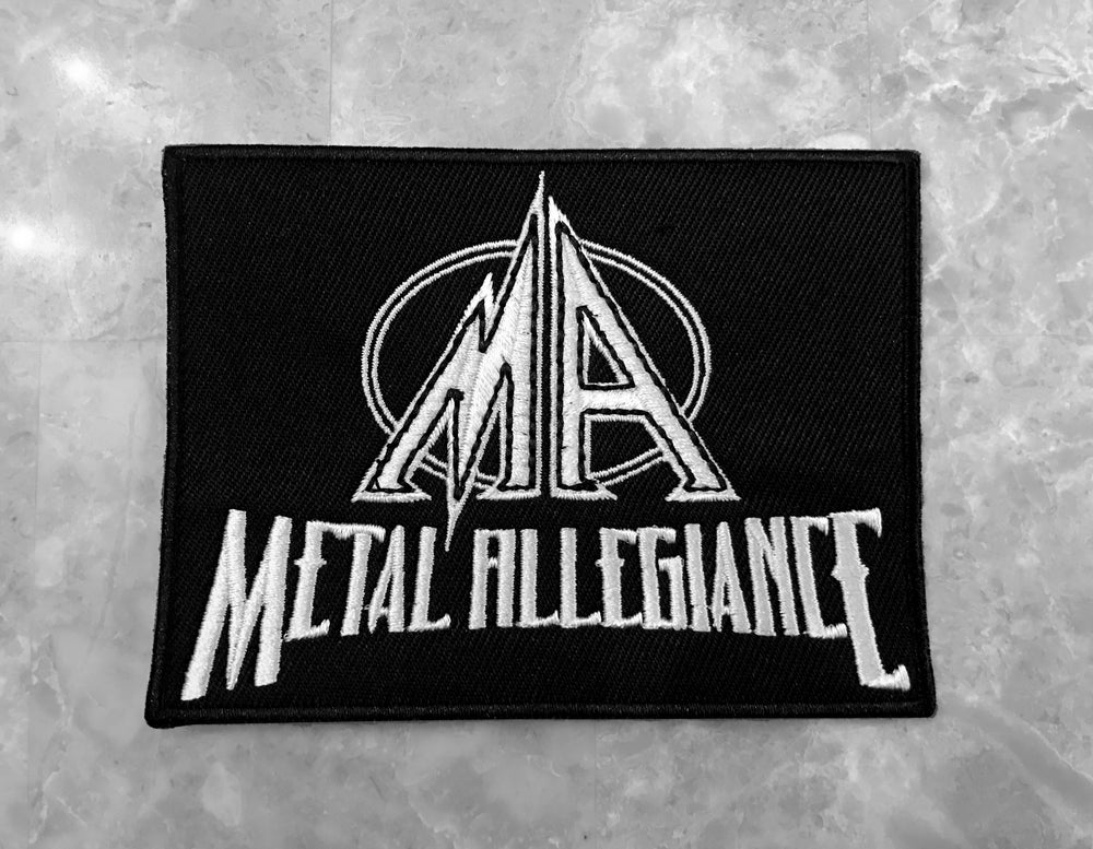 Image of Metal Allegiance Logo Patch