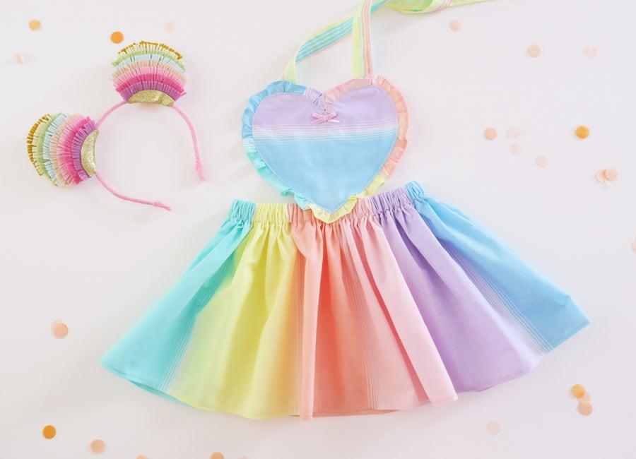 Image of Se Mari Vintage Over the Rainbow Pinny