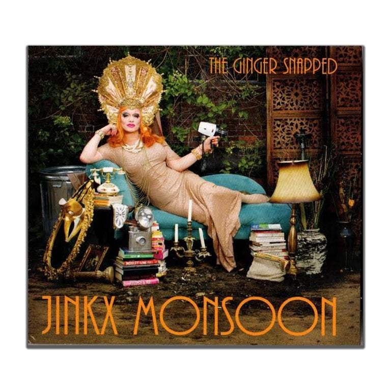 Image of Jinkx Monsoon The Ginger Snapped Album