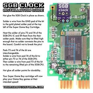 Image of SGB Clock Fix