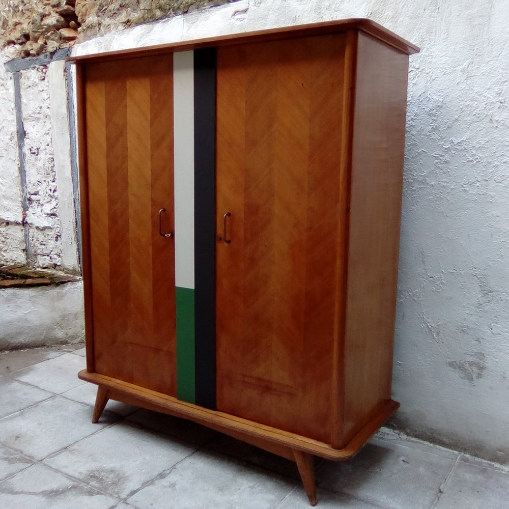 Image of Armoire compas massif